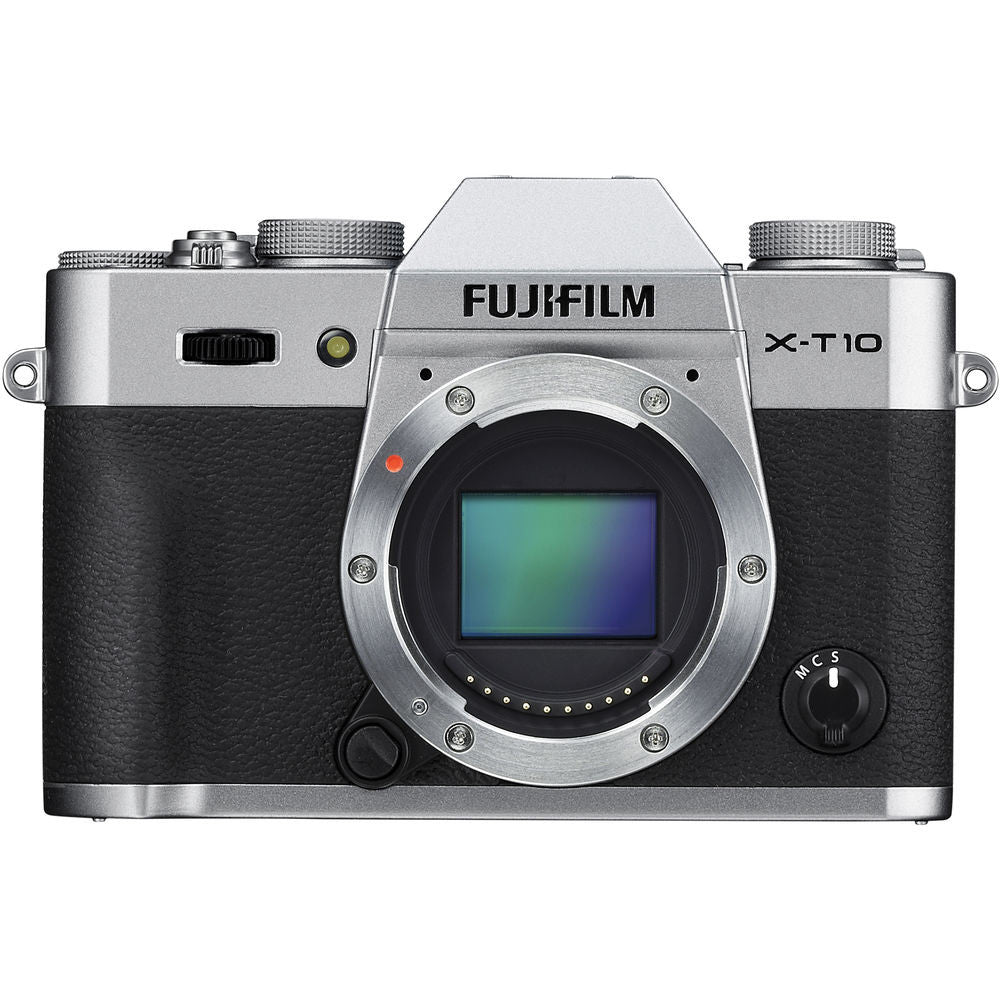 Fujifilm X-T10 Mirrorless Body Silver Digital Camera