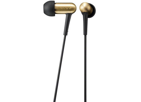 Sony XBA-100 Balanced Armature Gold Headphones