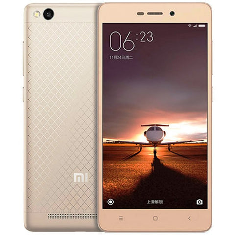 Xiaomi Redmi 3 Dual 16GB 4G LTE Gold Unlocked