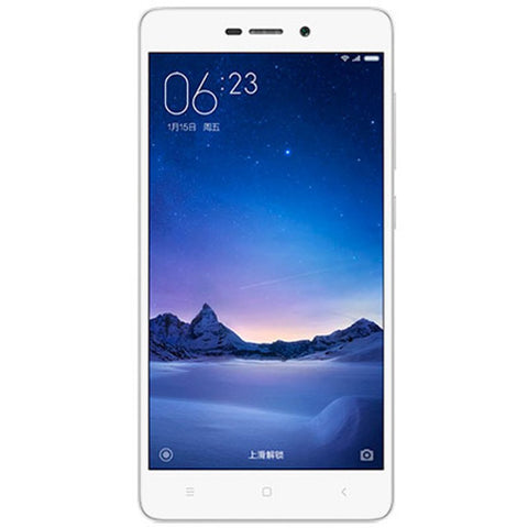 Xiaomi Redmi 3S Dual 16GB 4G LTE Silver Unlocked (CN Version)