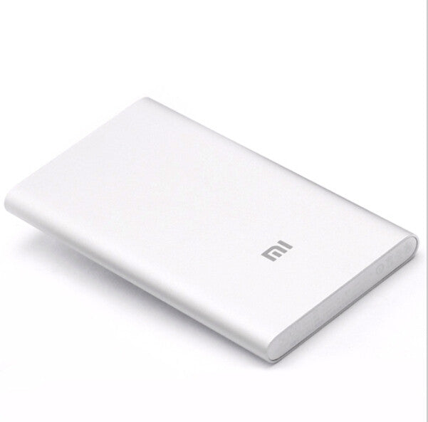 Xiaomi 5000 mAh Power Bank (Silver)