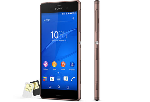 Sony Xperia Z3 Dual 16GB 4G LTE Copper (D6633) Unlocked