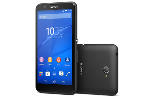 Sony Xperia E4G 8GB 4G LTE Black (E2003) Unlocked