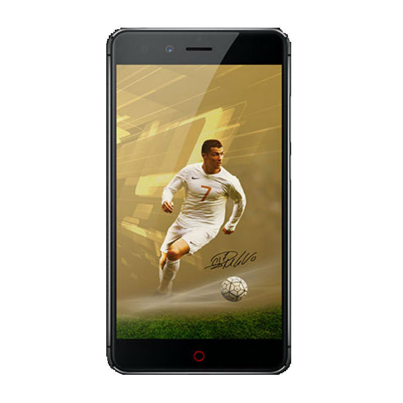 ZTE Nubia Z11 Mini 64GB 4G LTE C. Ronaldo Special Edition Black Unlocked (CN Version)