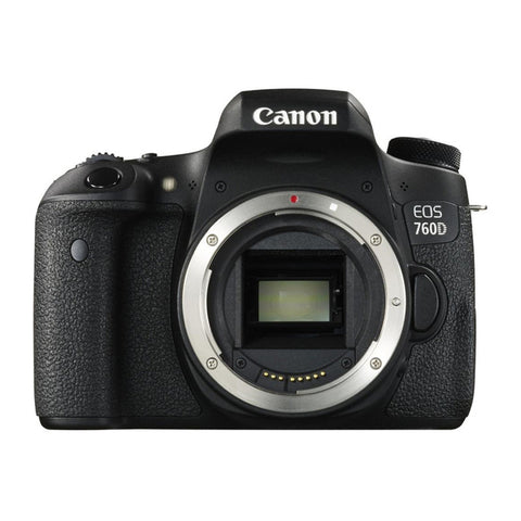 Canon EOS 760D Body Digital fotocamera digitale SLR (Kit Box) - MobiCity Italia