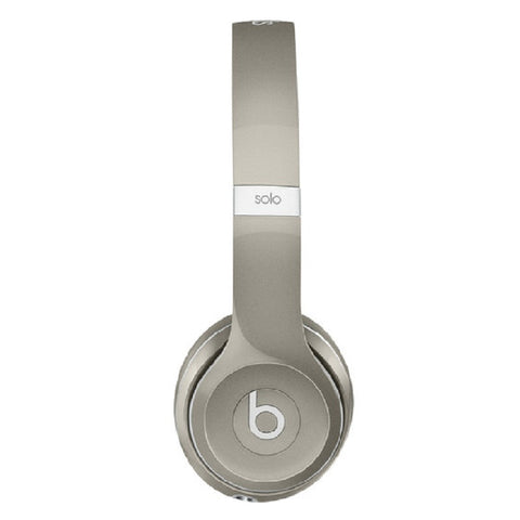 Beats Solo 2 Luxe Edition Cuffie On-Ear MLA42PA/A (Argento)