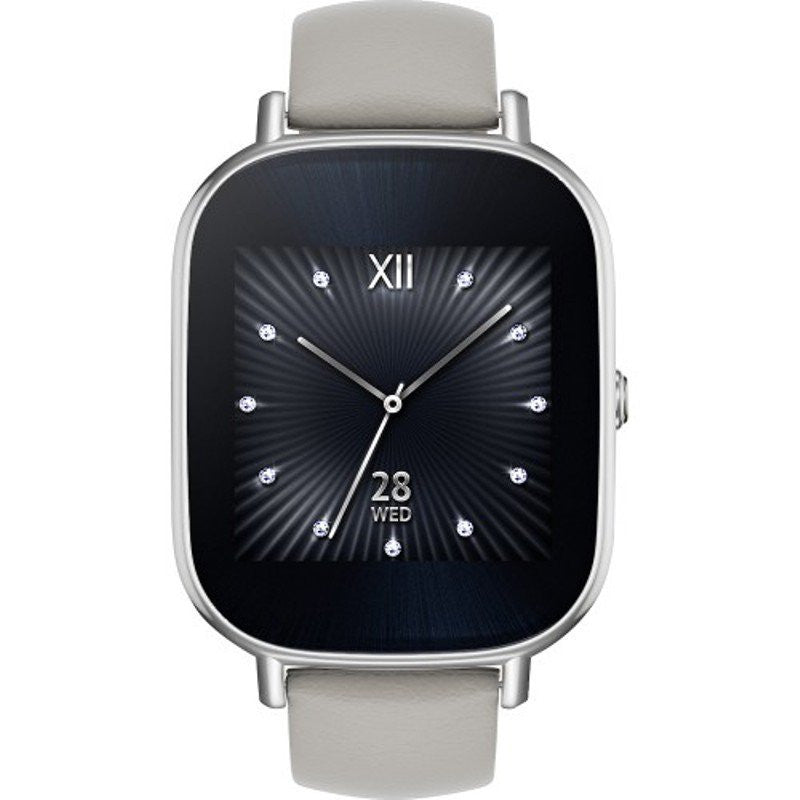 Asus WI502Q Zen Watch 2 Leather (Argento) - MobiCity Italia