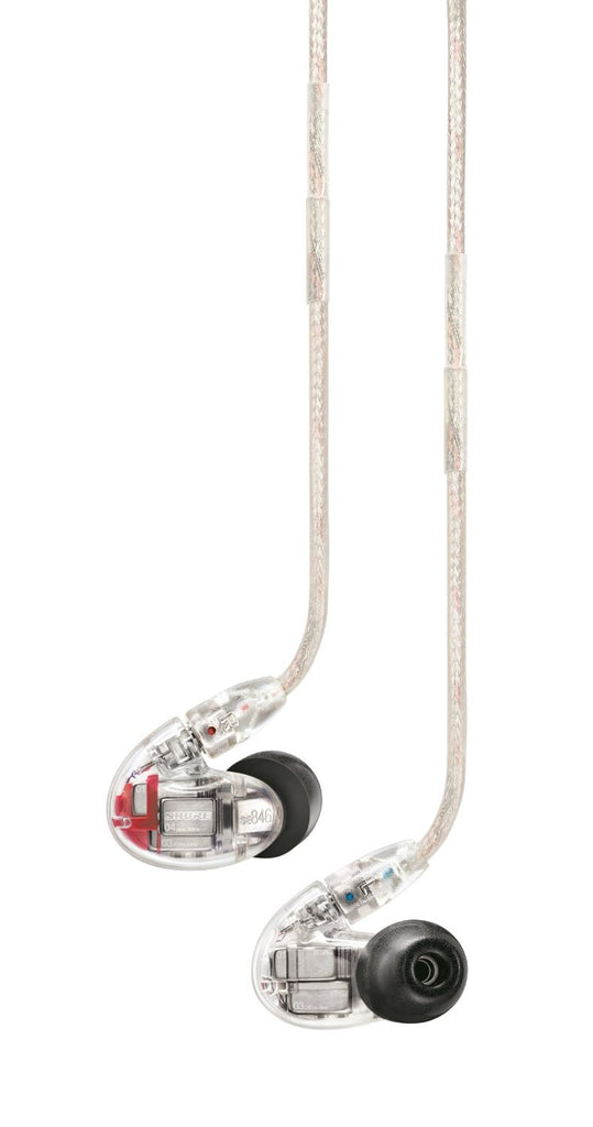 Shure SE846 Sound Isolating Cuffie Clear