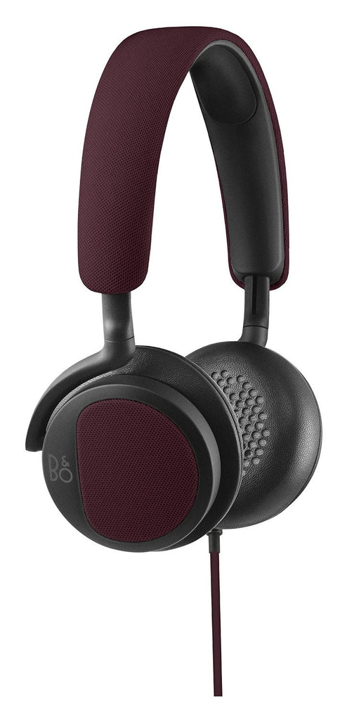 B&O Beoplay H2 Cuffie On-Ears (Rosso Profondo)