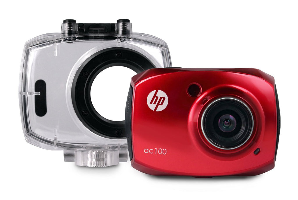 HP AC100 Digital Action Camera rossa - MobiCity Italia