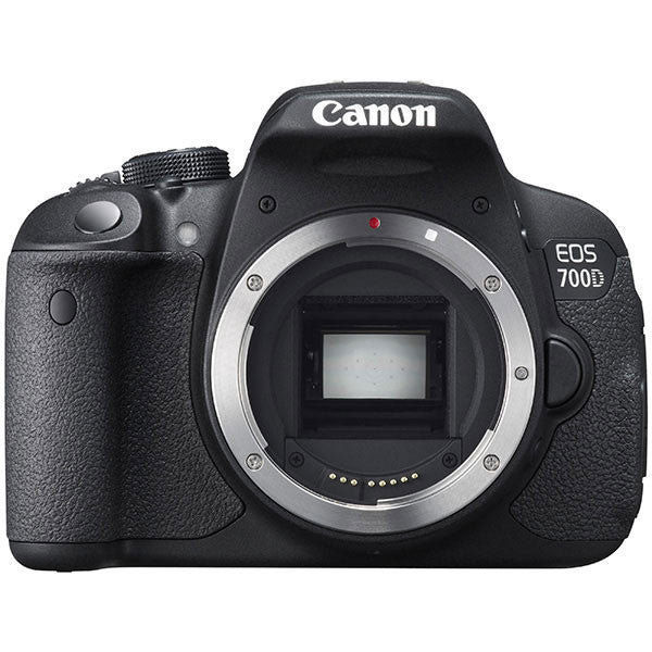 Canon EOS 700D Body Black Digital Fotocamera digitale nera SLR  (Kit Box) - MobiCity Italia