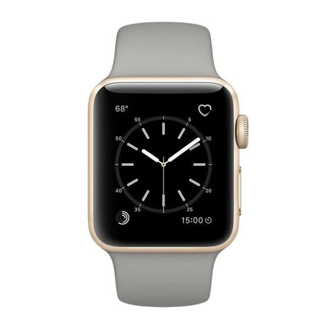 Apple Watch 38mm Oro Alluminio Cassa con Concrete Sport Bea MNNJ2 (Oro)