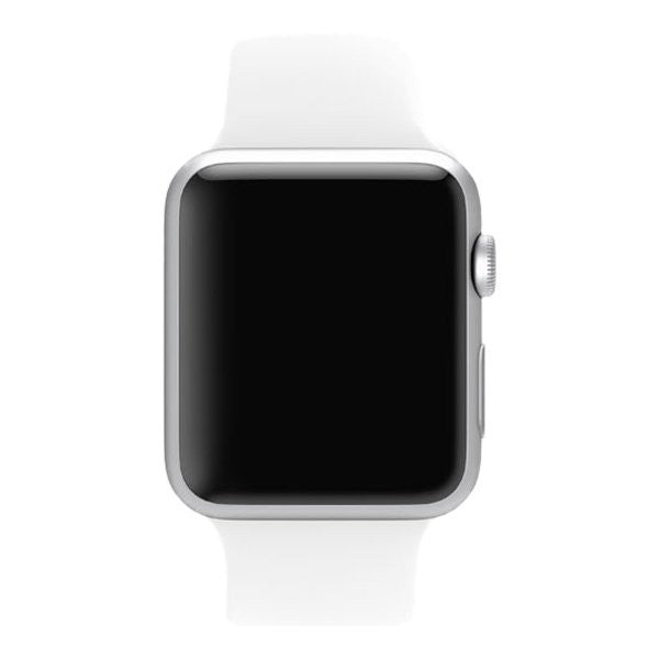 Apple Watch Sport 38mm Aluminum Case Sport Bracciale MJ2T2 (Bianco) - MobiCity Italia