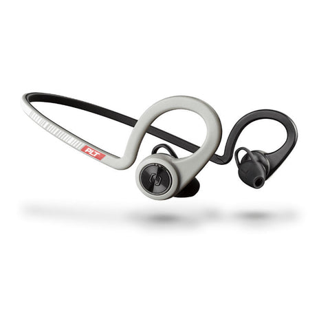 Plantronics BackBeat Fit 206002-01 Wireless Sport Cuffie con Microfono (Sport Grigio)