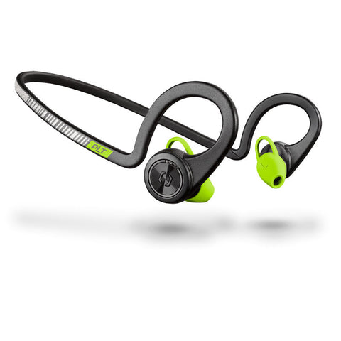 Plantronics BackBeat Fit 206005-01 Wireless Sport Cuffie con Microfono (Nero Core)