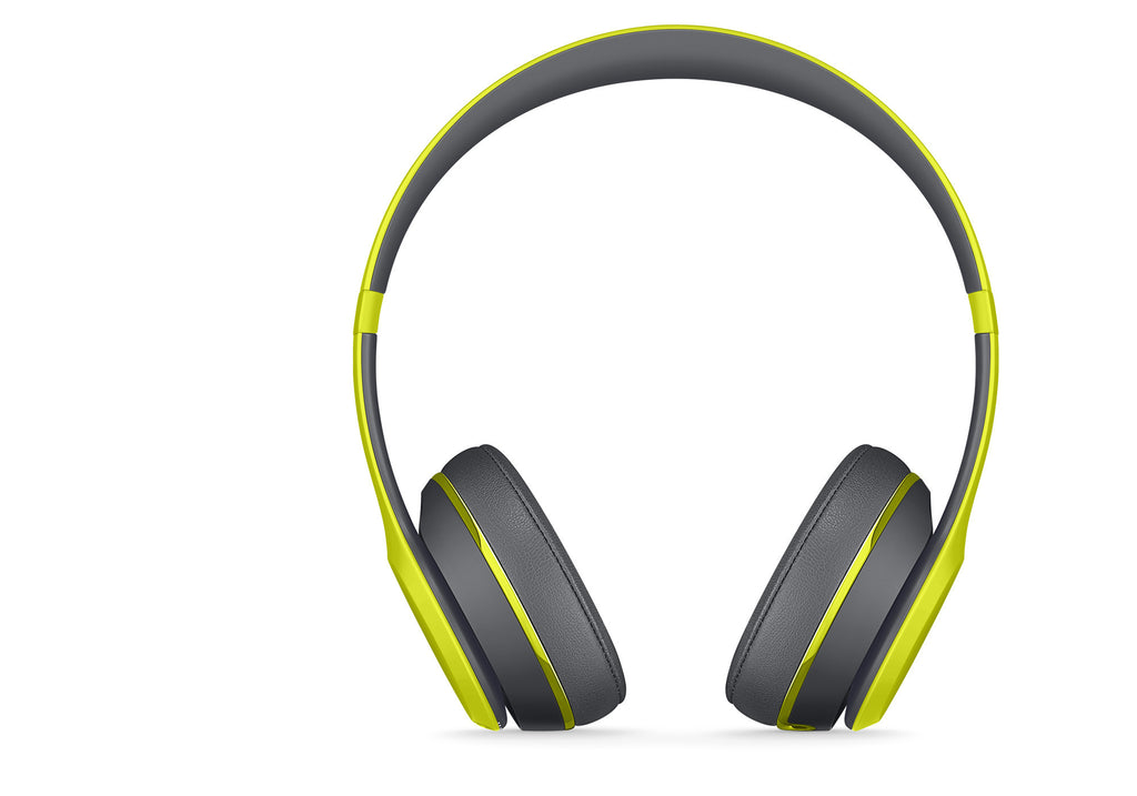 Beats Solo2 Cuffie Wireless (Giallo Shock) (MKQ12PA/A) - MobiCity Italia