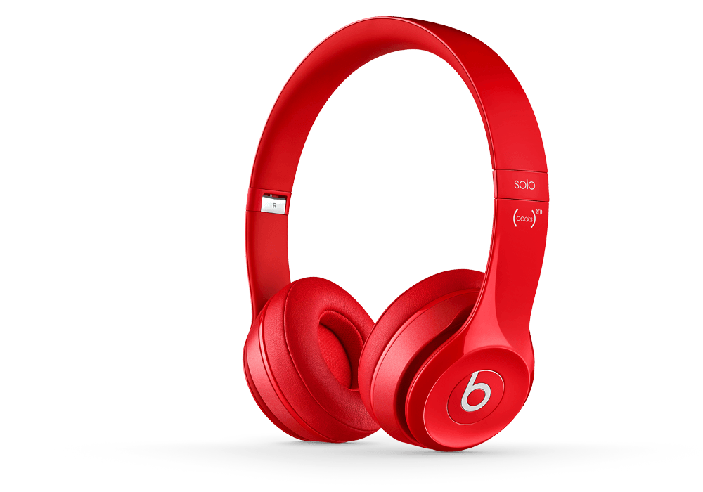 Beats Solo2 Rosso Cuffie (MHBY2PA/A)