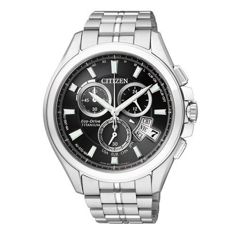 Citizen Eco-Drive Attesa Atomic Global Radio Duratect BY0020-59E (ATD53-3011) Orologio (Nuovo con Etichette) - MobiCity Italia