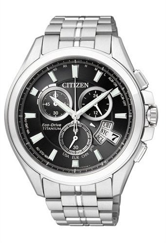 Citizen Eco-Drive Promaster Global Radio Controlled BY0051-55E (BY0050-58E) Orologio (Nuovo con Etichette)