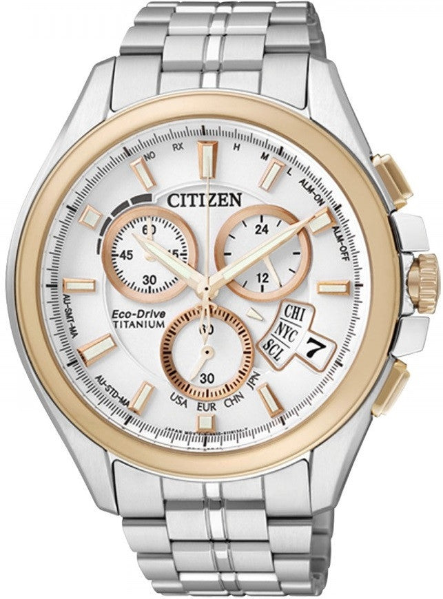 Citizen Eco-Drive Promaster Global Radio Controlled BY0054-57A Orologio (Nuovo con Etichette)