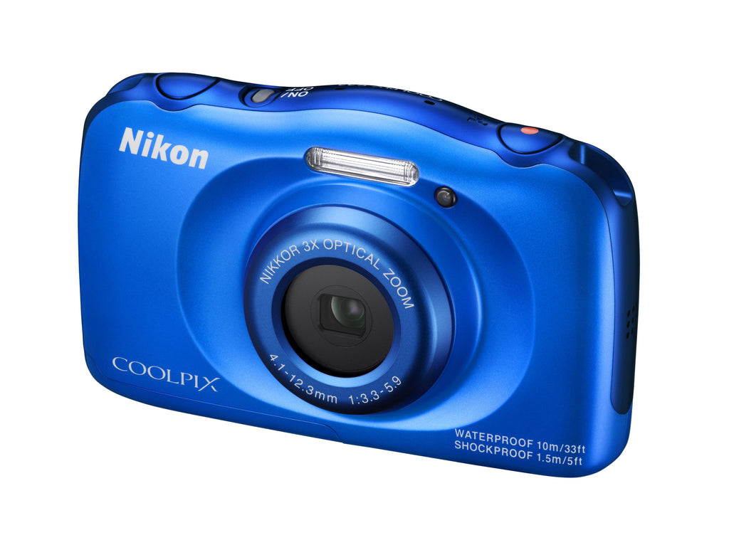 Nikon Coolpix S33 Blu Camera Digitale