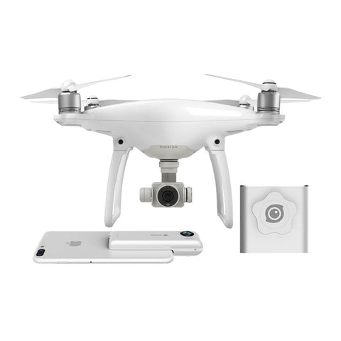 DJI Phantom 4 Pro Drone con Insta360 Nano Argento Camera and Insta360 Nano Argento Treppiede Supporto