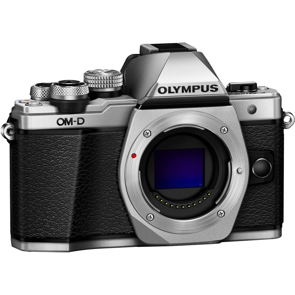 Olympus OM-D E-M10 Mark II Body Argento Digital SLR Camera (Kit Box) - MobiCity Italia