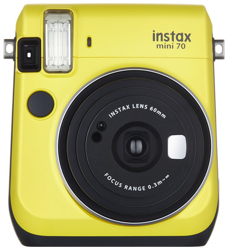 Fuji Film Instax Mini 70 Giallo Canarino Instant Camera
