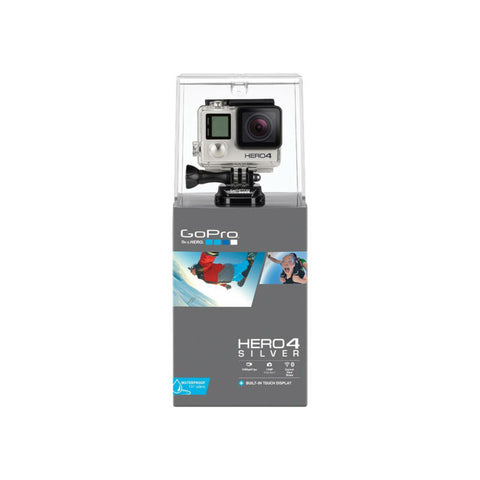 GoPro Hero 4 Digital Action Camera edizione argento