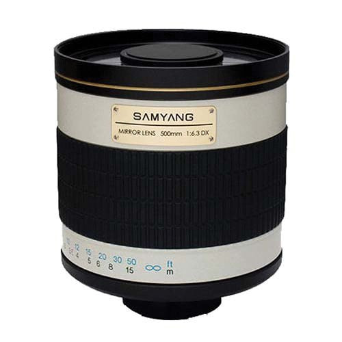Obiettivo Samyang 500mm MC IF f / 6.3 Mirror w / T2 Mount (Pen)