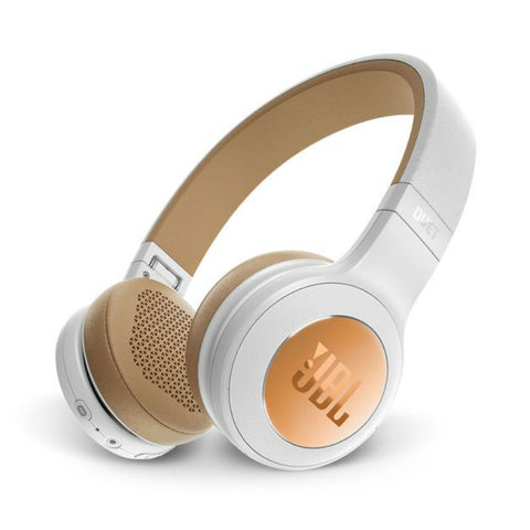 JBL Duet BT Wireless On-Ear Cuffie (Argento)