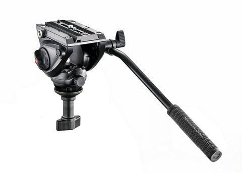 Manfrotto MVH500A Fluid Video Head 60mm Ball - MobiCity Italia