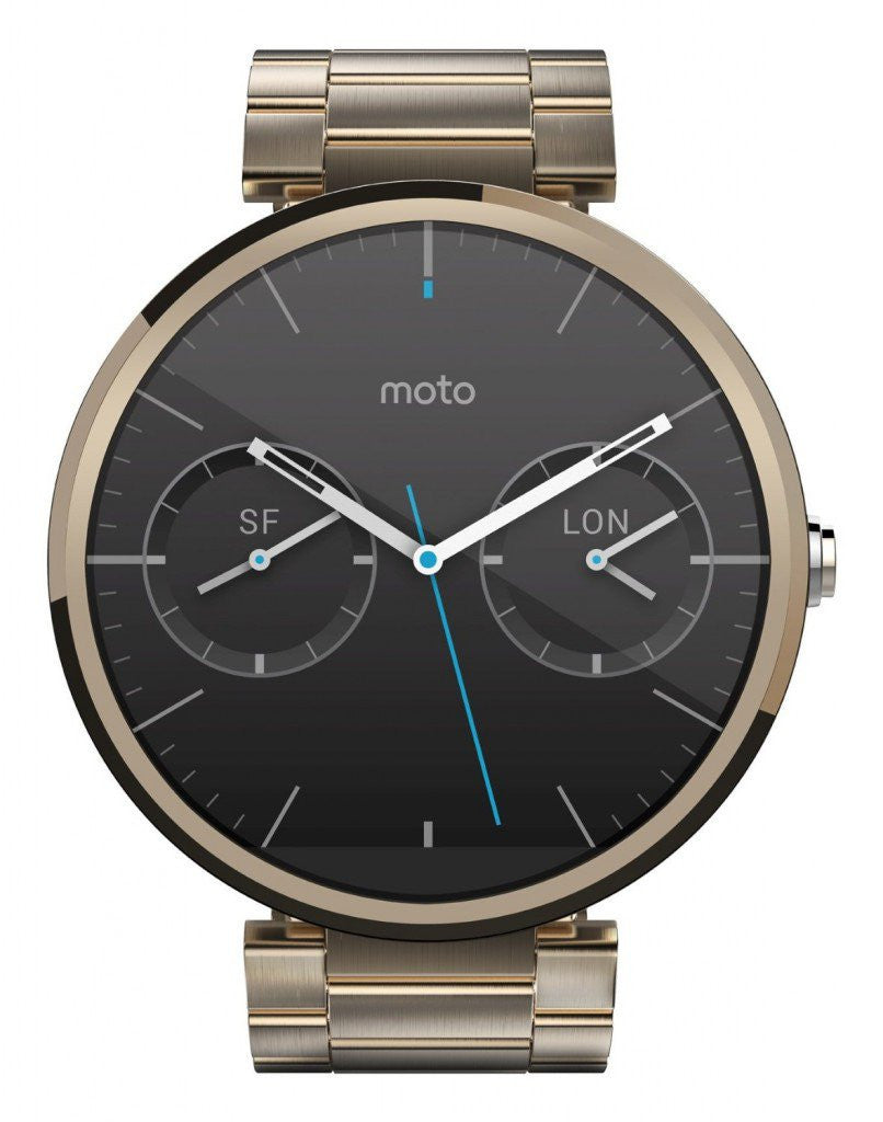 Motorola Moto 360 Smart Watch (Oro Cassa in Metallo)
