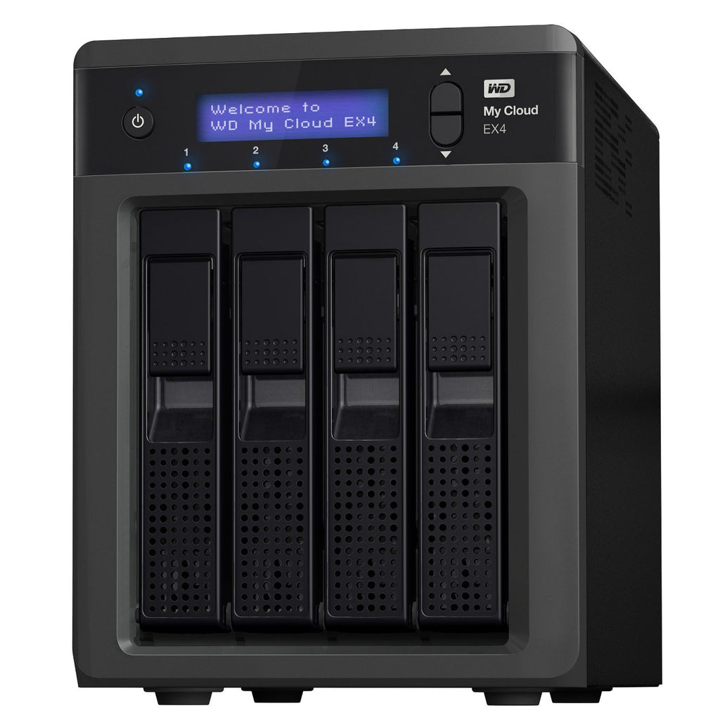 WD Elements My Cloud EX4 16TB Personal Cloud Storage WDBWWD0160KBK-SESN - MobiCity Italia