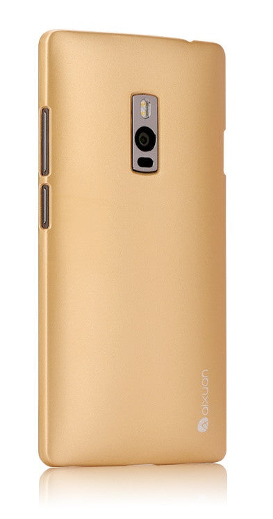 OnePlus Two Custodia per Cellulare  (Gold) - MobiCity Italia