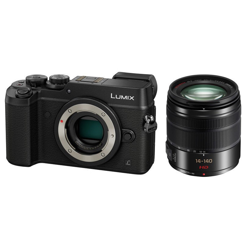 Panasonic Lumix DMC-GX8 Fotocamera Digitale Mirrorless Con Obiettivo 14-140mm (Nero)