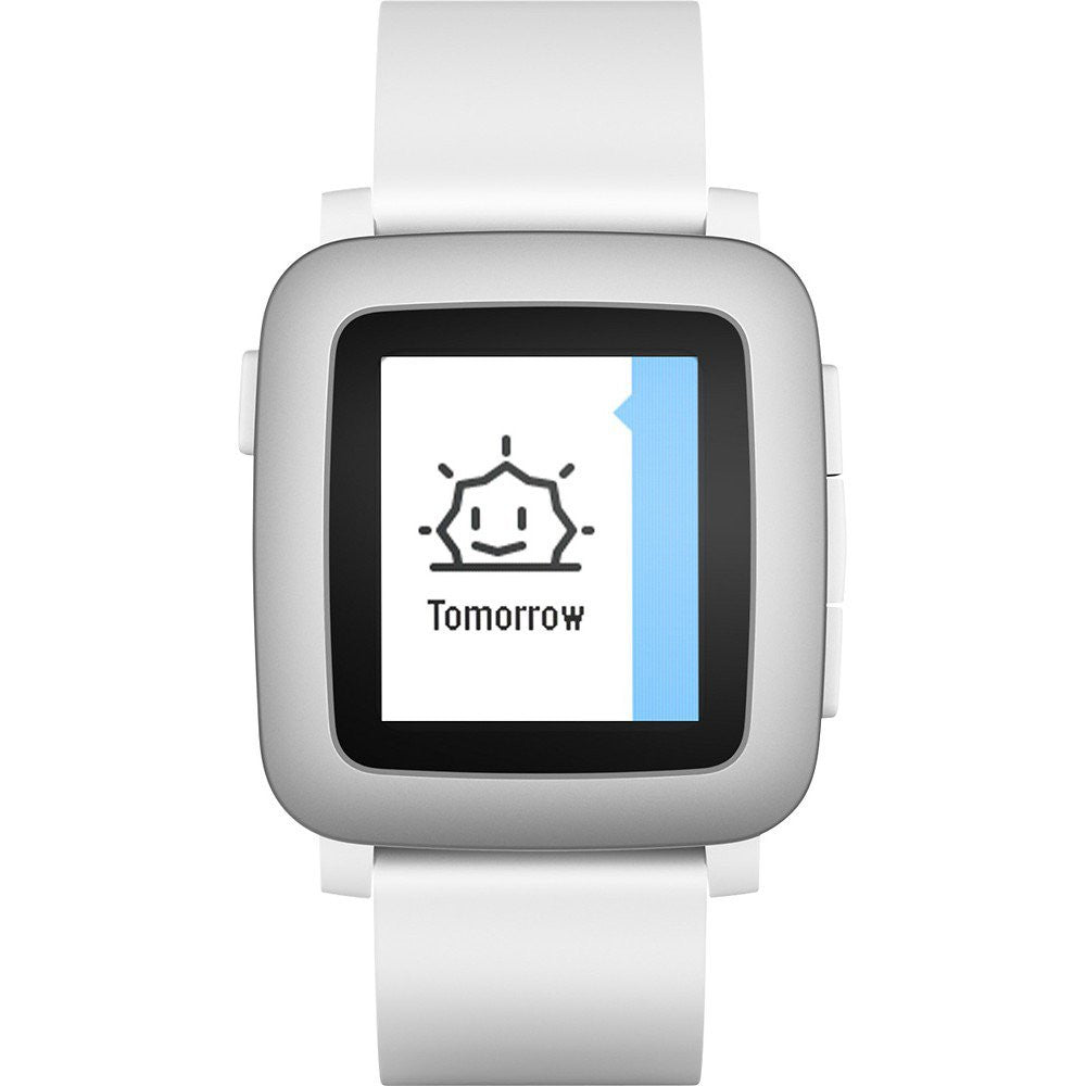 Pebble Time Smart Watch (Bianco) - MobiCity Italia