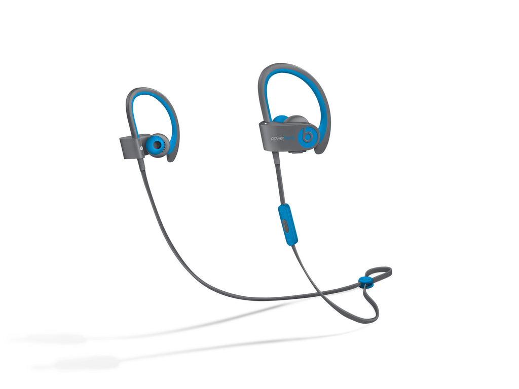 Powerbeats 2 Wireless by Dr. Dre Cuffie In-Ear (Blu Flash) (MKQ02PA/A) - MobiCity Italia