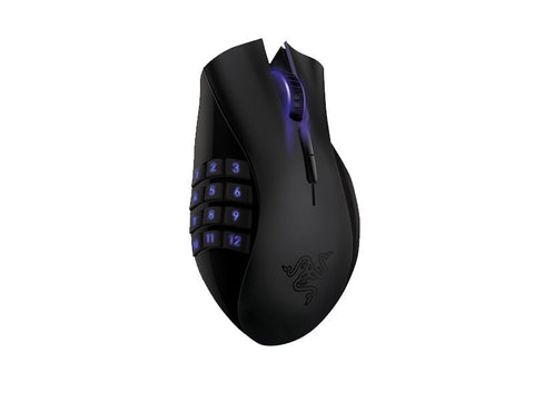 Razer Naga Epic RZ01-00510100-R3A1 Mouse per Gaming Wireless Ricaricabile