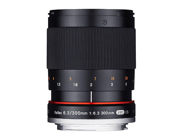 Samyang 300mm f/6.3 Mirror Lenti per Sony Alpha