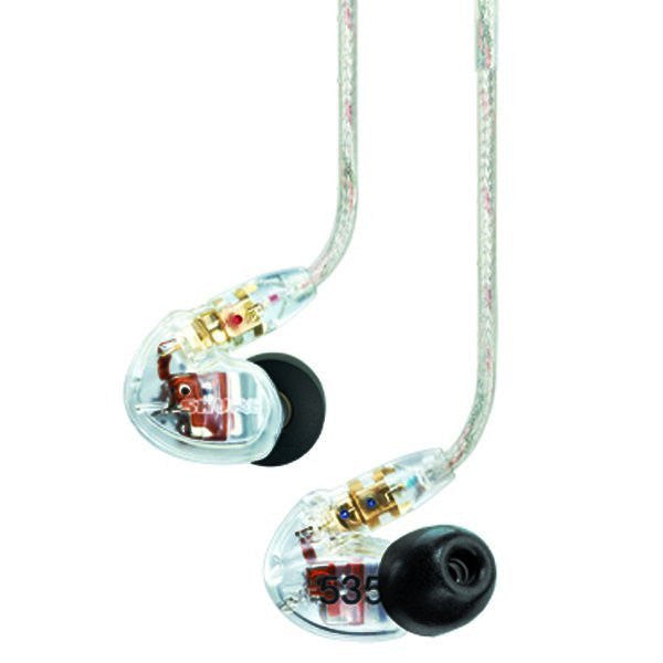 Shure SE535 Sound Isolating Cuffie Clear