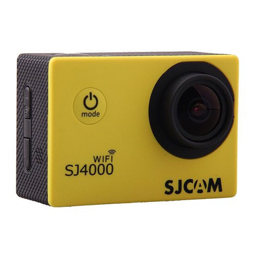 SJCAM SJ4000 WiFi 1080p Full HD DVR Action Sport camera gialla - MobiCity Italia