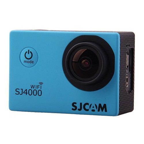 SJCAM SJ4000 WiFi 1080p Full HD DVR Action Sport camera blu - MobiCity Italia