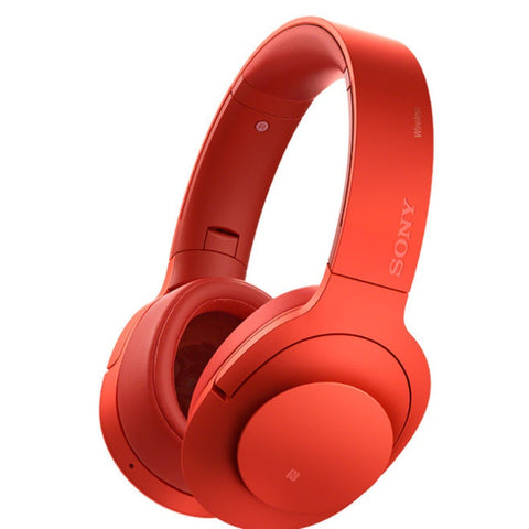 Sony Cuffie Wireless Noise Canceling Stereo  MDR-100ABN / R (Rosso cinabro) - MobiCity Italia