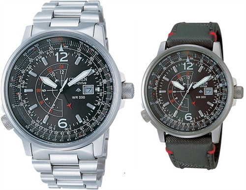 Citizen Eco-Drive Promaster Nighthawk BJ7010-59E-SET Horloge (Nieuw met Labels)