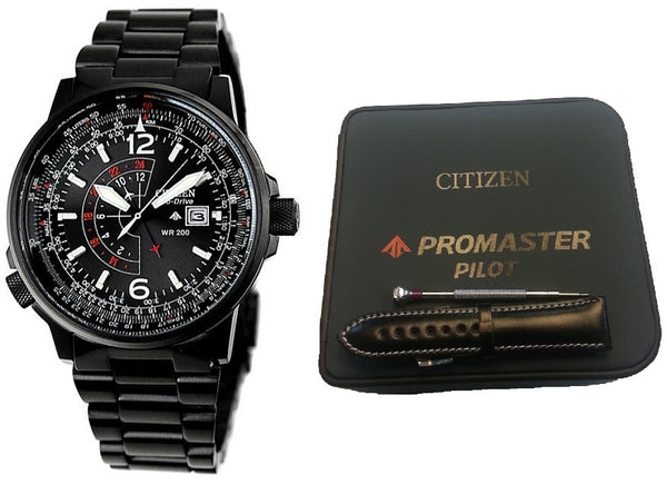 Citizen Eco-Drive Promaster Nighthawk BJ7019-62E-SET Horloge (Nieuw met Labels)