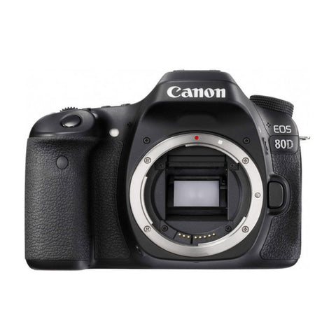 Canon EOS 80D Body Zwart Digitale SLR Camera