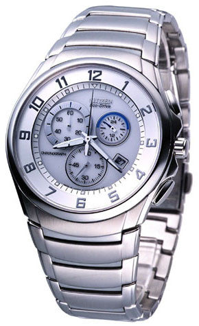 Citizen Eco-Drive Chronograaf AT0690-55A Horloge (Nieuw met Labels)