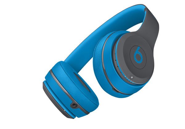 Beats Solo2 Draadloos Headphones (Flash Blue) (MKQ32PA/A)