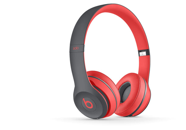 Beats Solo2 Draadloos Headphones (Siren Red) (MKQ22PA/A)